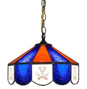"Virginia Cavaliers 14"" Swag Hanging Lamp"