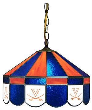 "Virginia Cavaliers 16"" Swag Hanging Lamp"