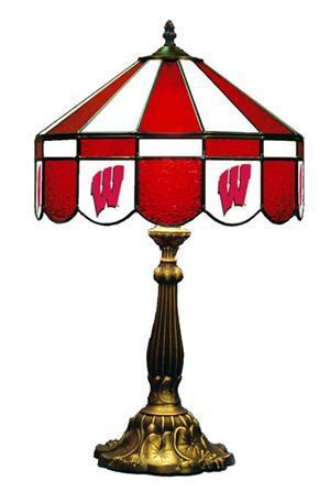 Wisconsin Badgers W Table Lamp