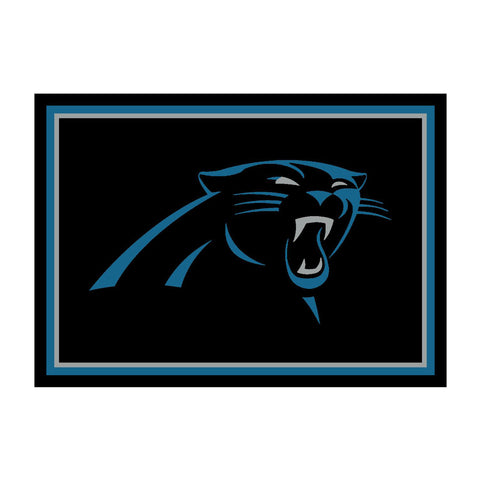 Carolina Panthers 8X11 Spirit Rug