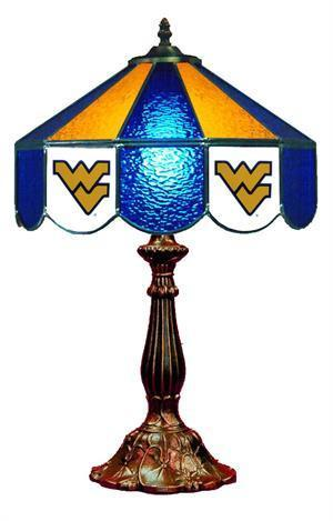 West Virginia Mountaineers Table Lamp 21 in High