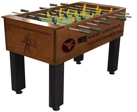 West Virginia Mountaineers Foosball Table