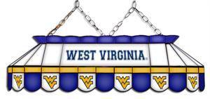 West Virginia Mountaineers Tiffany Pool Table Light