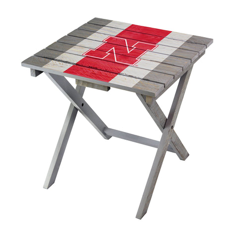 Nebraska Cornhuskers Adirondack Folding Table