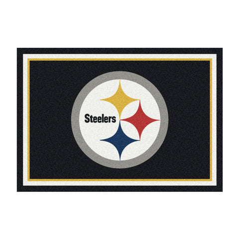 Pittsburgh Steelers 8X11 Spirit Rug