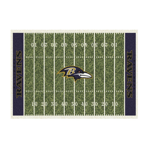 Baltimore Ravens 8X11 Homefield Rug