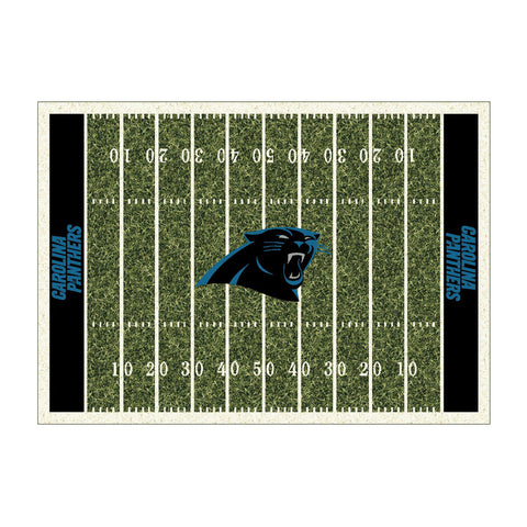 Carolina Panthers 6X8 Homefield Rug