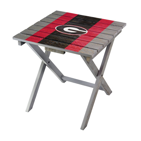 Georgia Bulldogs Adirondack Folding Table