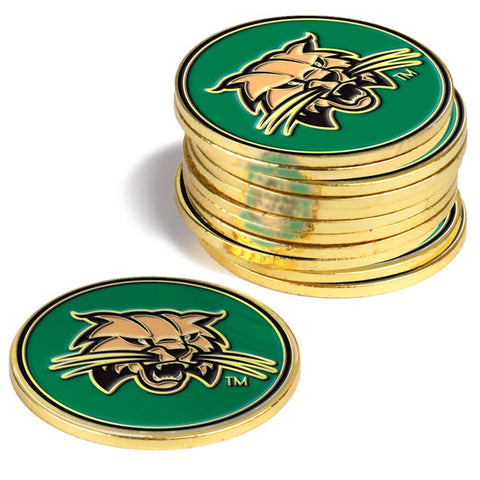 Ohio University Bobcats 12 Pack Ball Markers