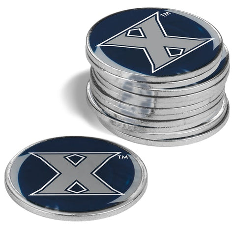 Xavier Musketeers 12 Pack Ball Markers