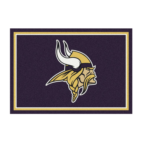 Minnesota Vikings 8X11 Spirit Rug