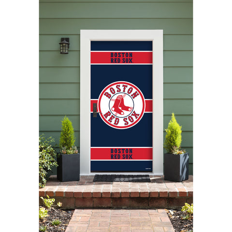 Boston Red Sox Front Door Cover