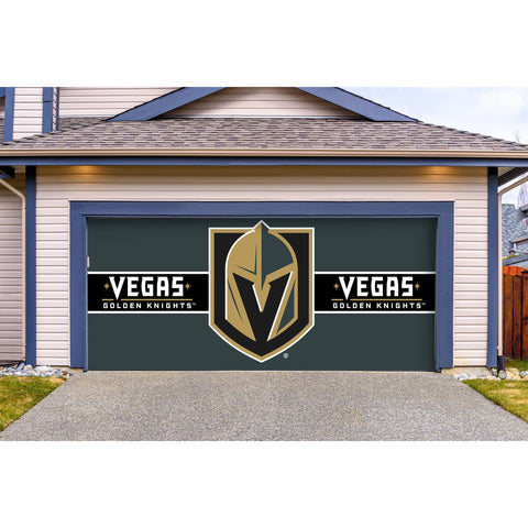 Las Vegas Golden Knights Double Garage Door Cover