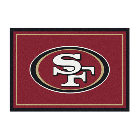 San Francisco 49Ers 8X11 Spirit Rug