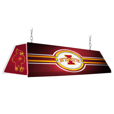 "Iowa State Cyclones 46"" Edge Glow Pool Table Light-Red"