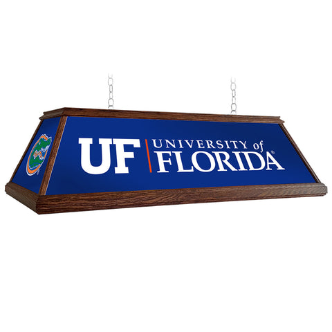 "Florida Gators 49"" Premium Wood Pool Table Light"