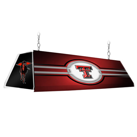 "Texas Tech Red Raiders 46"" Edge Glow Pool table Light-Red-Secondary"