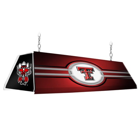 "Texas Tech Red Raiders 46"" Edge Glow Pool table Light-Red-Raider Red"