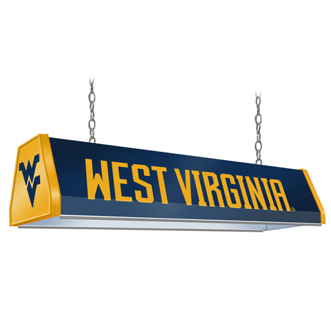 "West Virginia Mountaineers  38"" Standard Pool Table Light-Blue"