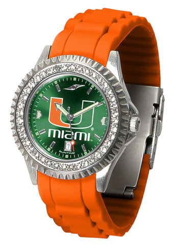 Miami Hurricanes Sparkle Watch