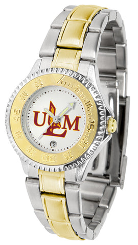 Louisiana Monroe Warhawks  Competitor Ladies 2-Tone Watch