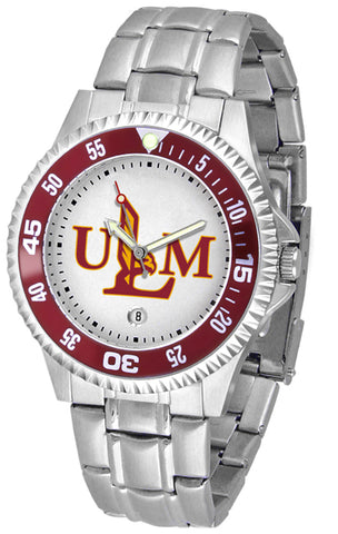 Louisiana Monroe Warhawks  Competitor Steel Watch -Mens by Suntime