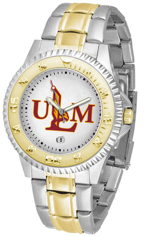 Louisiana Monroe Warhawks  Competitor 2-Tone Watch -Mens by Suntime