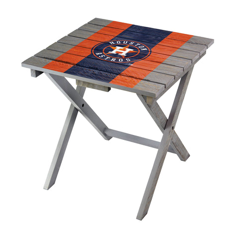 Houston Astros Folding Adirondack Table