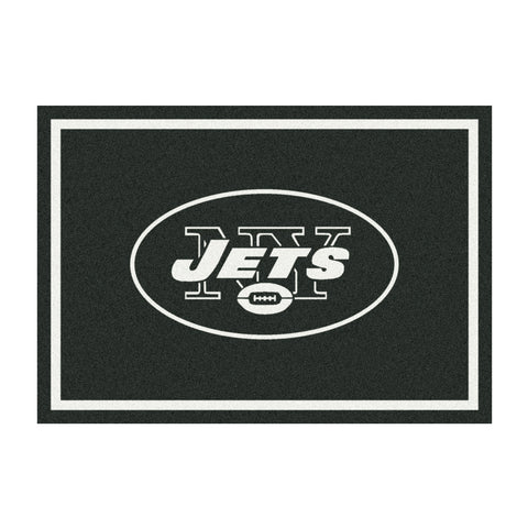 New York Jets 8X11 Spirit Rug