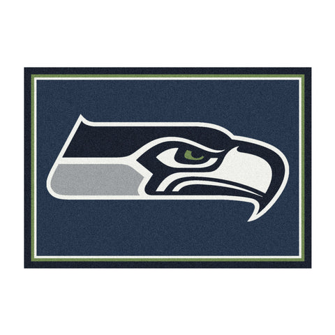 Seattle Seahawks 8X11 Spirit Rug