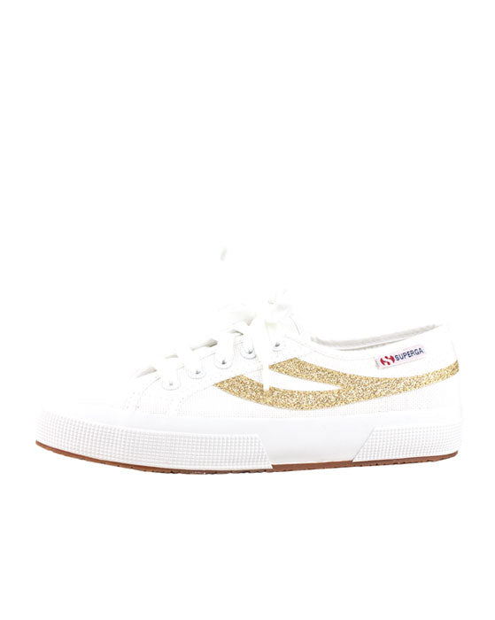 Superga Swallow Tale White Gold Sneaker