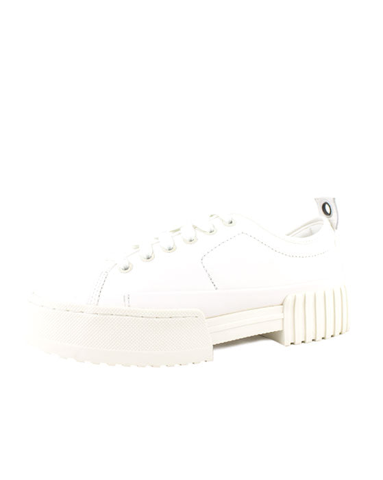 Diesel Merley White Leather Sneaker