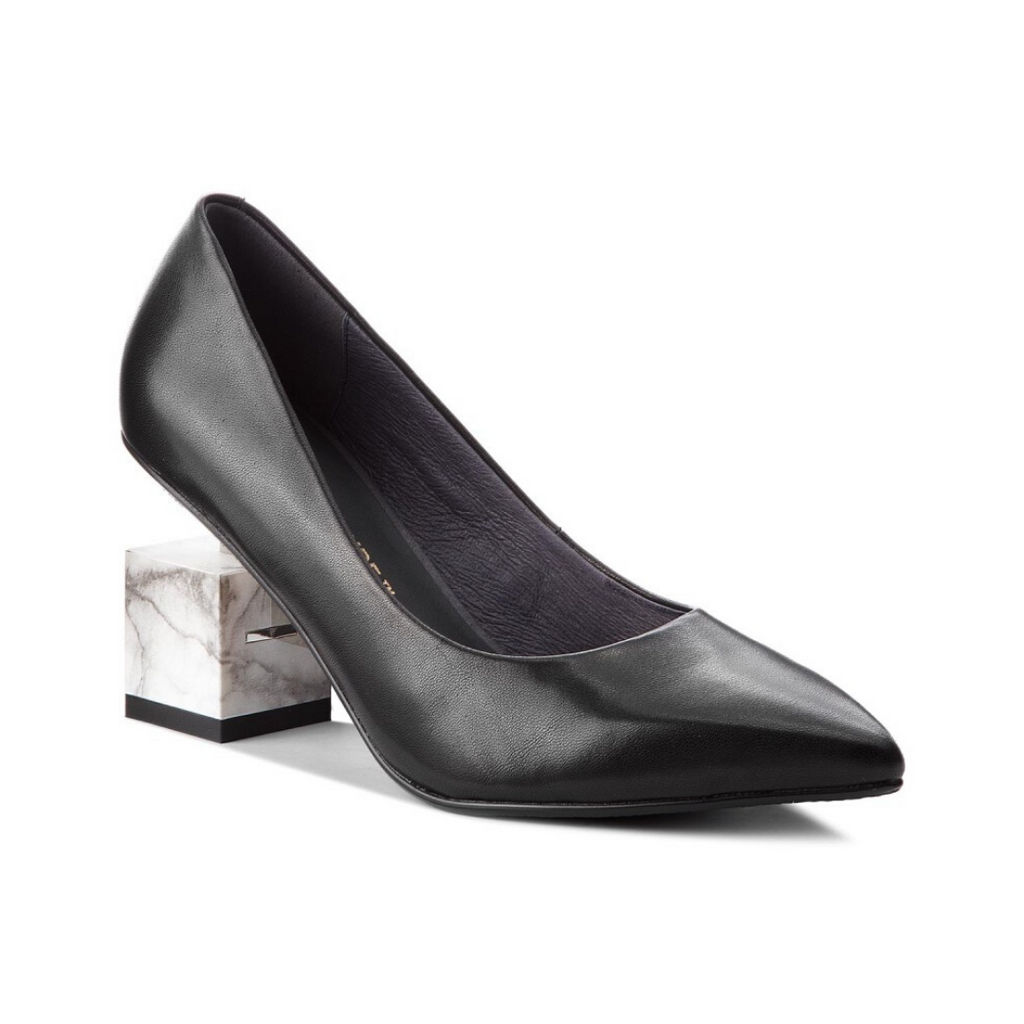 United Nude Cube Pump Black Heel