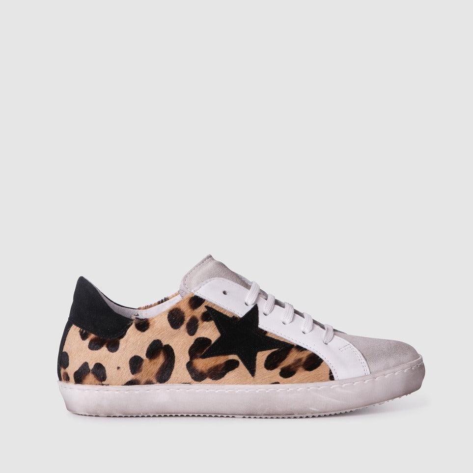 ZK League sneaker in Leopard