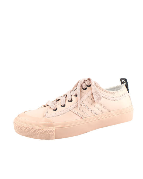 Diesel Astico Pale Pink Leather Sneaker