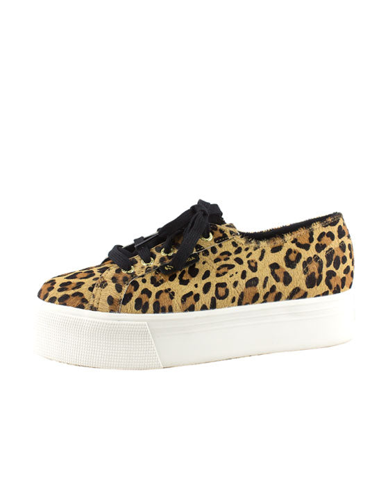 Superga Leahorse  Brown Leopard Sneaker