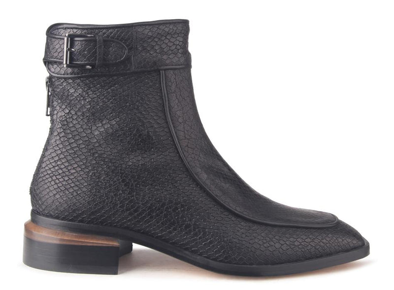 Beau Coops Farrow Snake Nero Boot