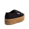 Superga Navy Rope Sole Sneaker