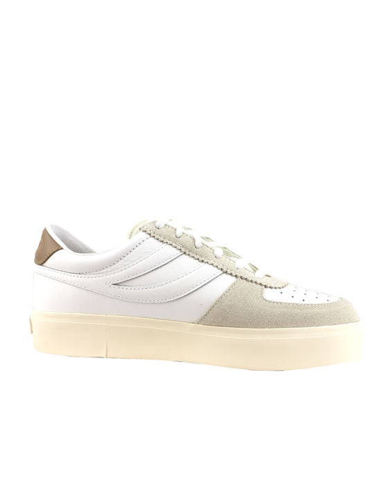Superga 2850 Seattle  White Brown Dusty Sneaker