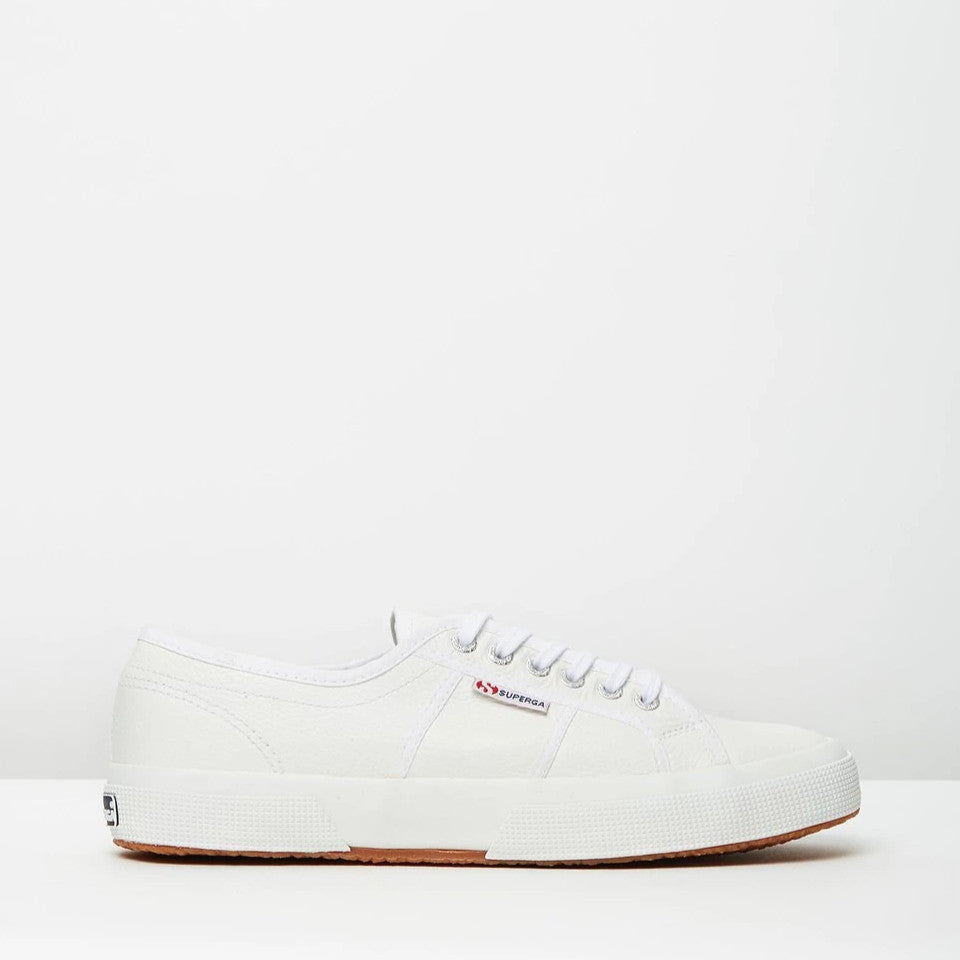 Superga Leather White sneaker