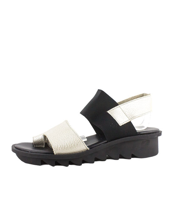 Arche Ikhini Neutral Black Sandal