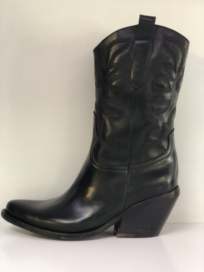 Cavallaccio Dallas Black Boot