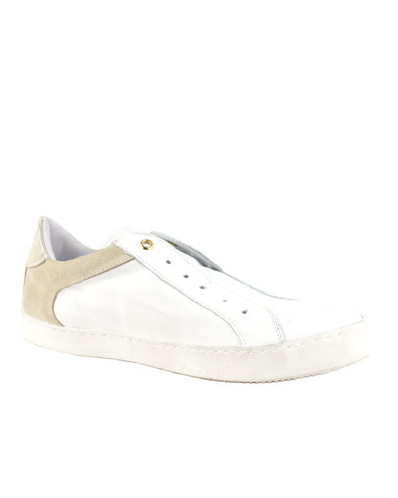 ZK Punctuate White Gold Sneaker