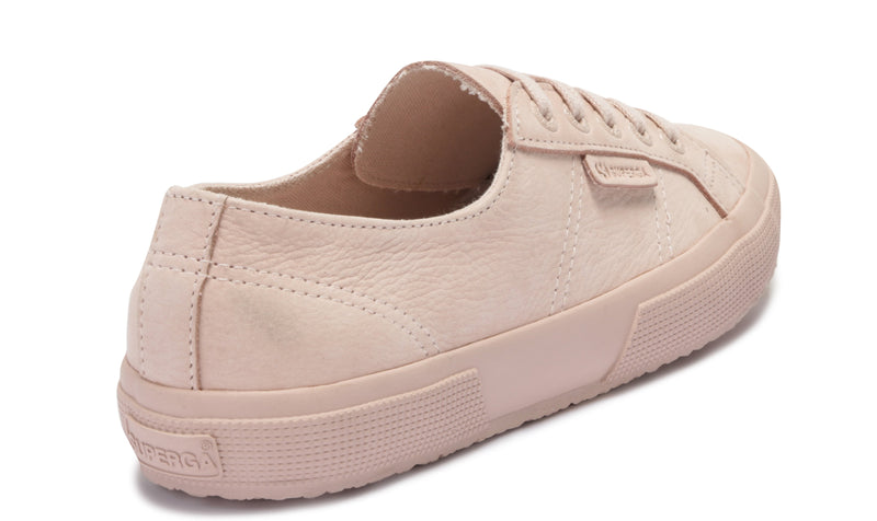 Superga Pink 2750 Tumbled Leather Sneaker