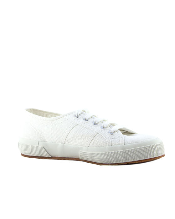 Superga White Canvas Sneaker