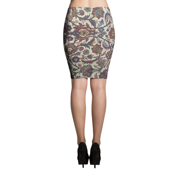 Gabbeh Pencil Skirt - KaliKut apparel