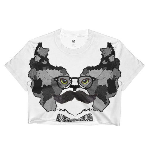 PERSIAN CAT B SUBLIMATION CROP TOP - KaliKut apparel