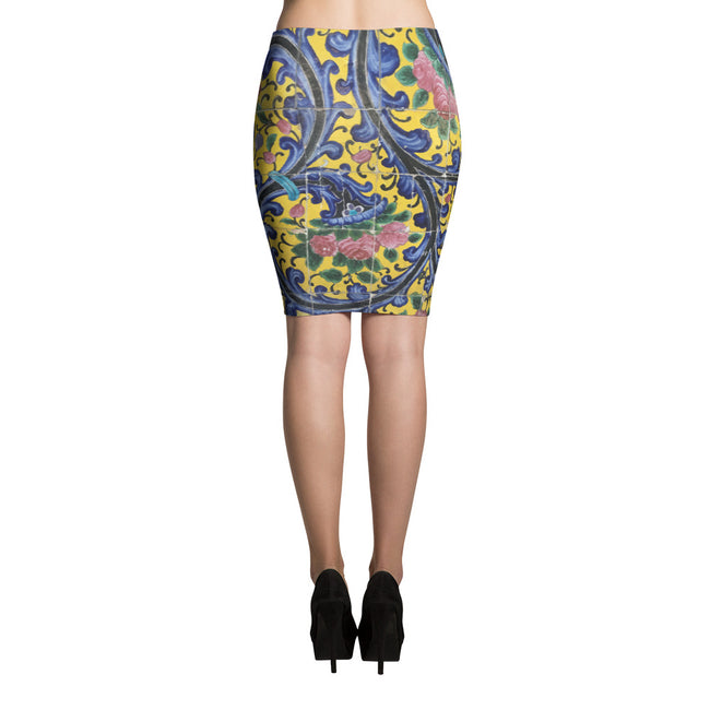 Agra Pencil Skirt - KaliKut apparel