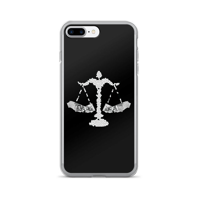 California Libra zodiac sign iPhone 7/7 Plus Case - KaliKut apparel