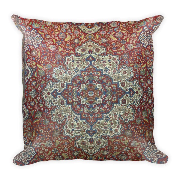 Hooked Square Pillow - KaliKut apparel